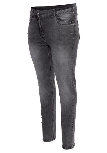 NoSecret Destroyed-Jeans mit modischen Vintage-Details