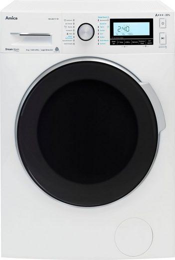 Amica Waschmaschine WA 484 111 W, 8 kg, 1400 U/Min