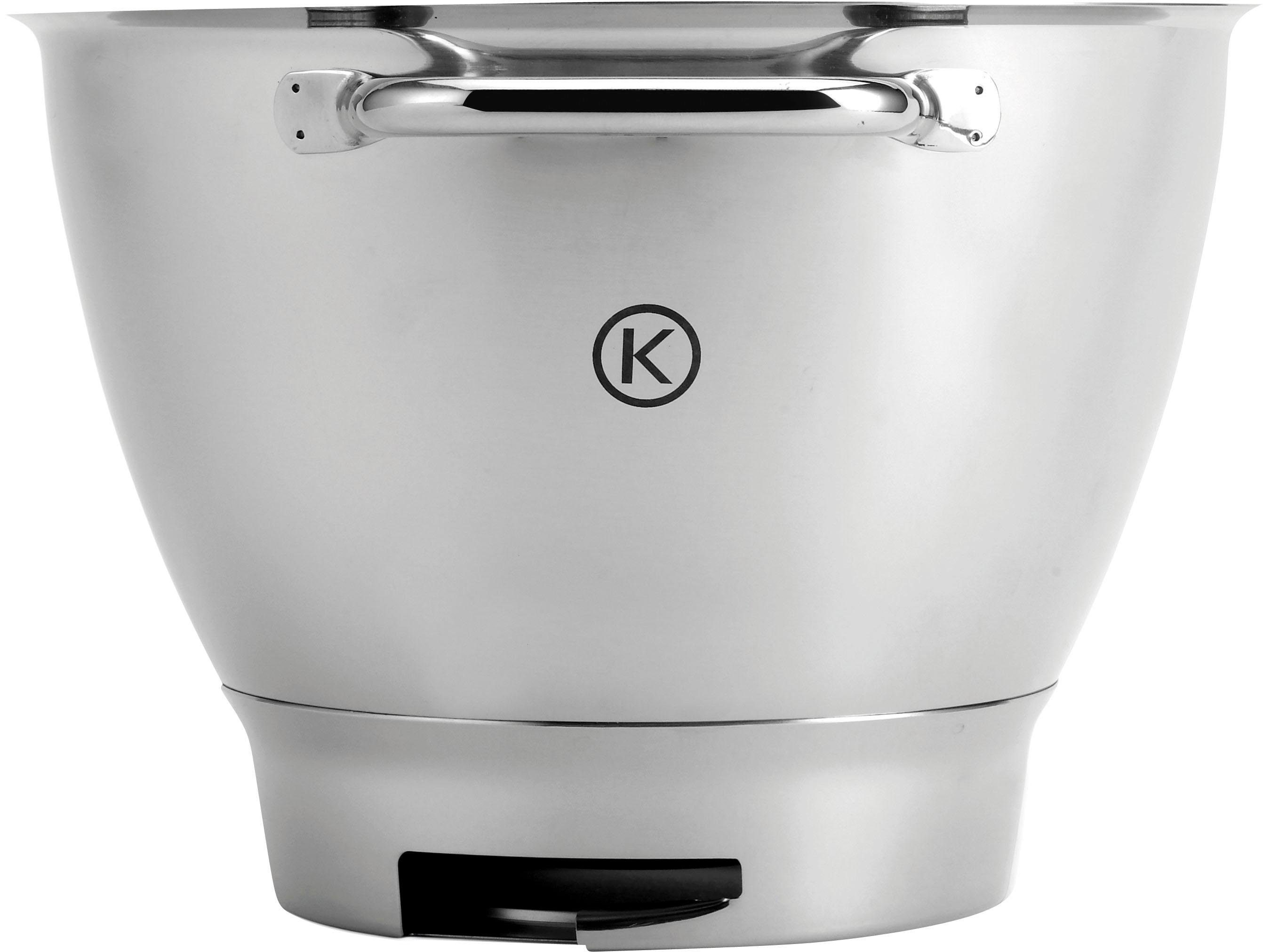 KENWOOD Edelstahl-Schüssel Chef Titanium KAT711SS für Kenwood Küchenmaschinen