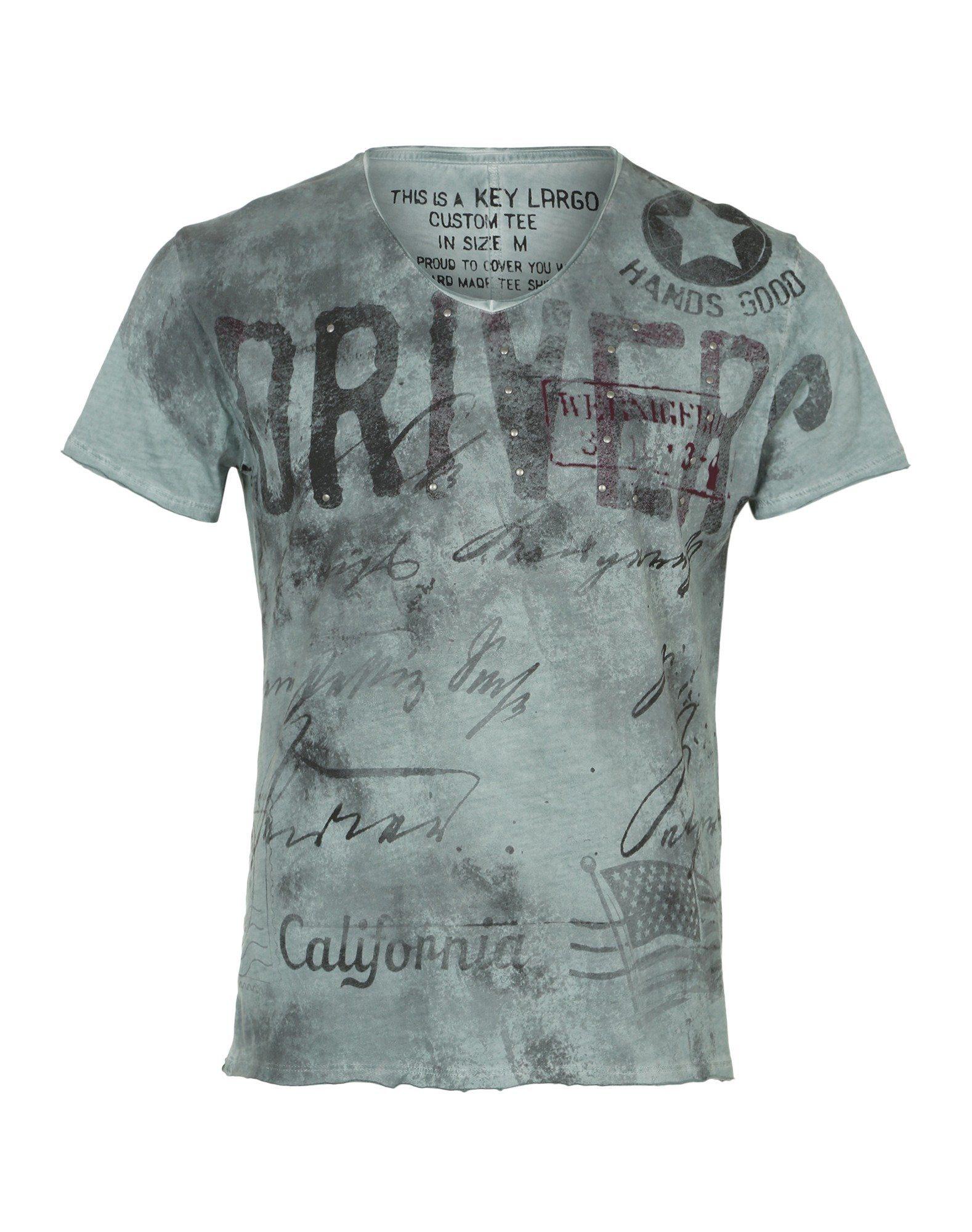 Key Largo Rundhalsshirt »Driving«