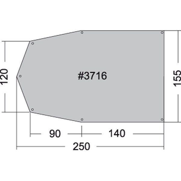 TATONKA® Zeltzubehör »Zeltunterlage 250x155cm«