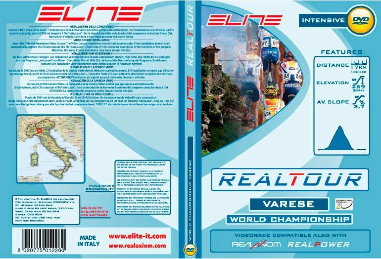 Elite Vorderradstütze »DVD Varese 2008 Wordchampionships Real«