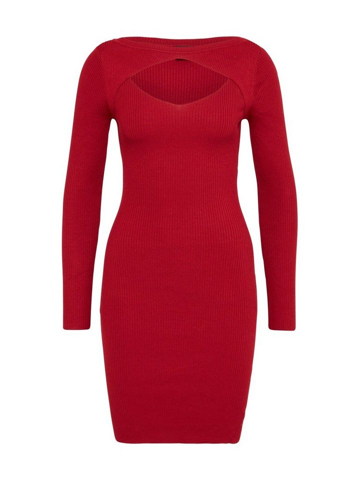 urban classics -  Jerseykleid »Cut Out« Cut-Outs