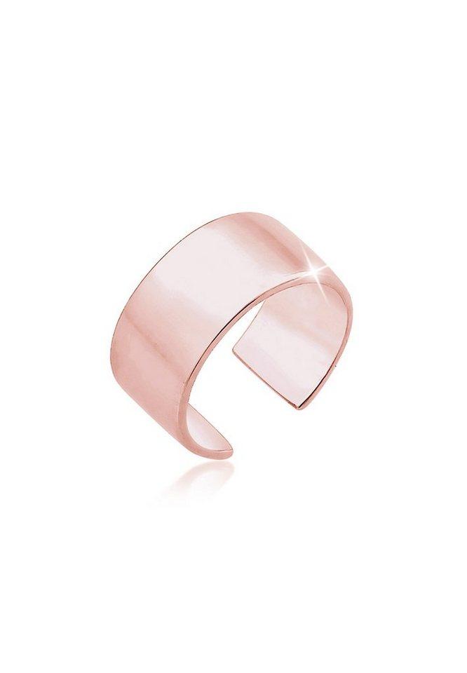 Elli Ohrringe »Basic Single Earcuff Geo Blogger 925 Silber rosé ... 0081bd4c58