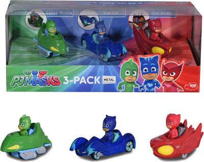 Dickie Toys Spielzeug-Auto »PJ Masks 3-Pack«, (Set, 3-tlg)