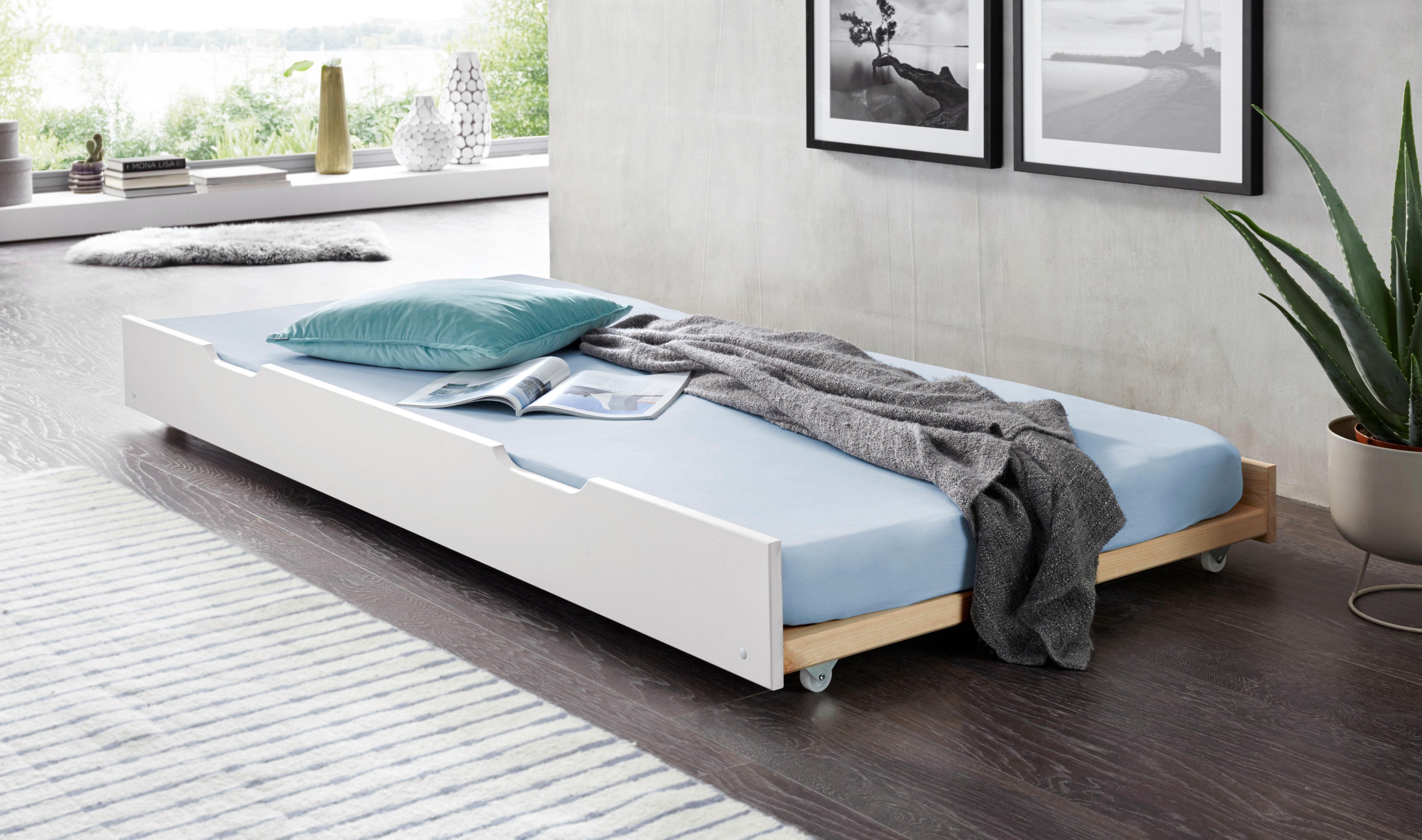 Bettschubkasten als 2. Schlafgelegenheit