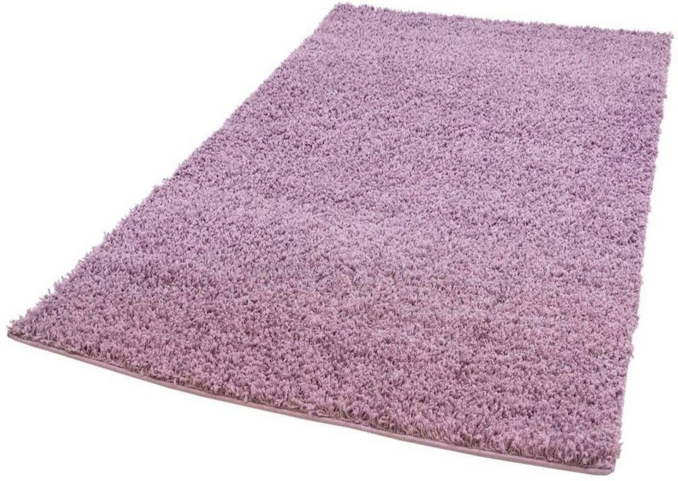Hochflor Teppich Pastell Shaggy300 Carpet City Rechteckig Höhe