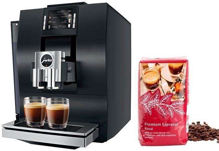 JURA Kaffeevollautomat 15231 Z6 Aluminium Schwarz
