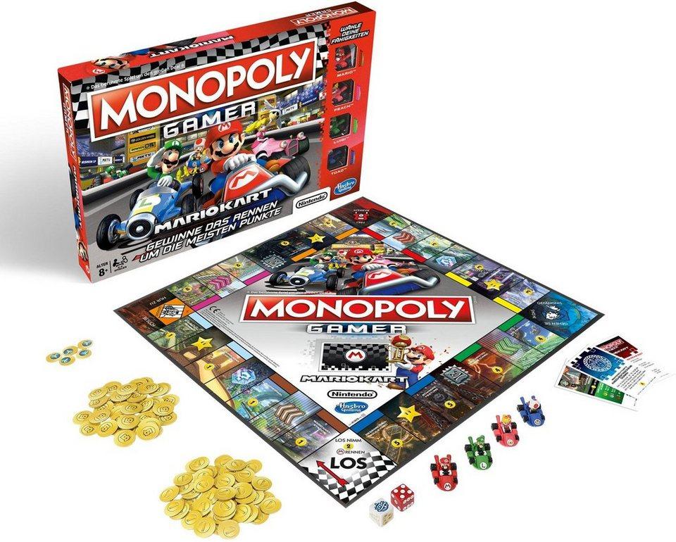 Hasbro Gesellschaftsspiel,  Monopoly Gamer Mario Kart  online kaufen