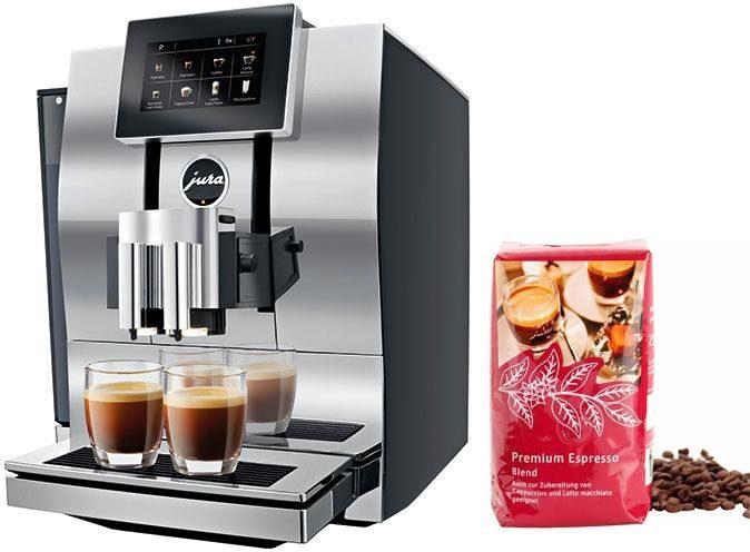 Jura Kaffeevollautomat 15207 Z8 Aluminium Chrom