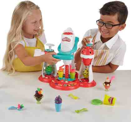 Hasbro Knetset, »Play-Doh, Super Eiscreme Maschine«
