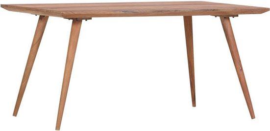 Gutmann Factory Esstisch »Timber«, aus Massivholz Akazie in schöner Holzoptik