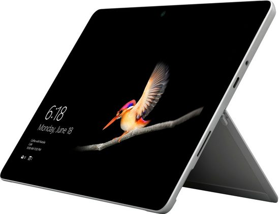 Microsoft Surface Go Convertible Notebook (25 cm/10 Zoll, Intel Pentium Gold, 64 GB eMMC, 4 GB RAM)