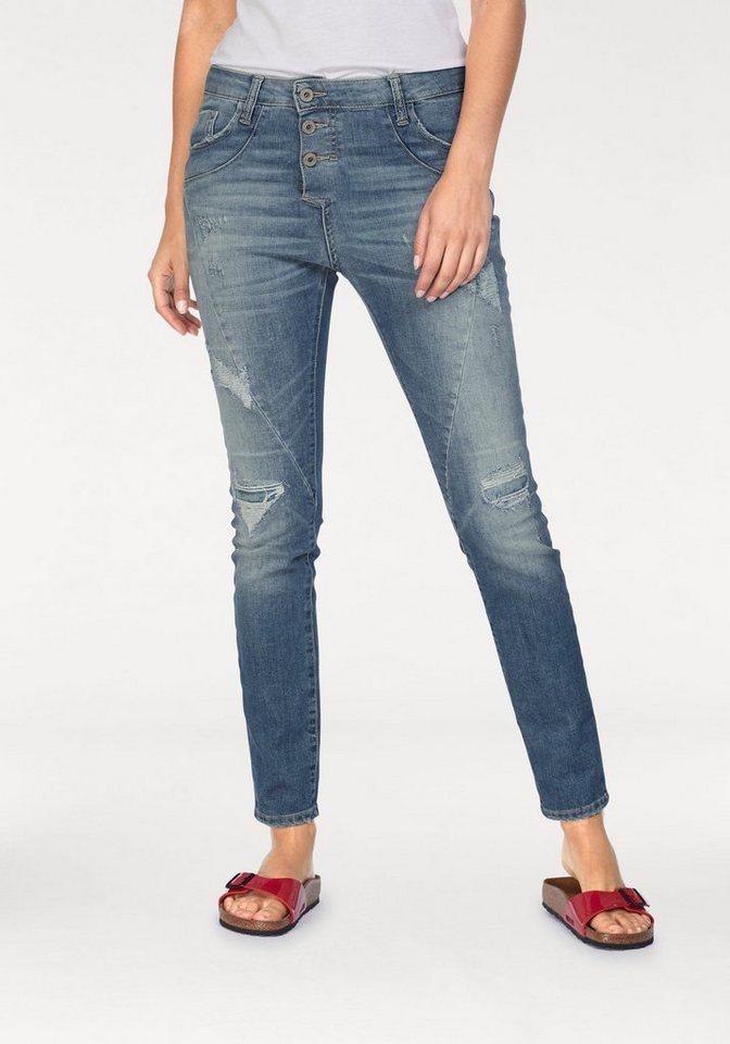 Please Jeans Boyfriend-Jeans »P78A« mit Galon-Streifen online kaufen ... 67cdcb78cf