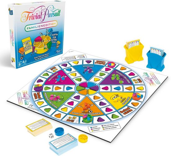 Hasbro Spiel, »Trivial Pursuit Familien Edition«, Made in Europe