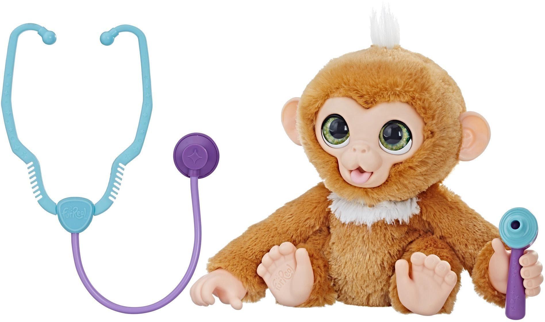 Hasbro Interaktives Plüschtier, »FurReal Kleiner Patient Zandi«
