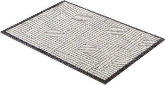 Fußmatte »Manhattan 004«, SCHÖNER WOHNEN-Kollektion, rechteckig, Höhe 7 mm, waschbar