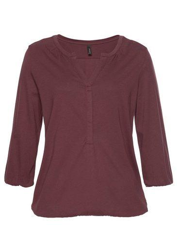 soyaconcept 3/4-Arm-Shirt »Felicity7« mit elastischen Bündchen