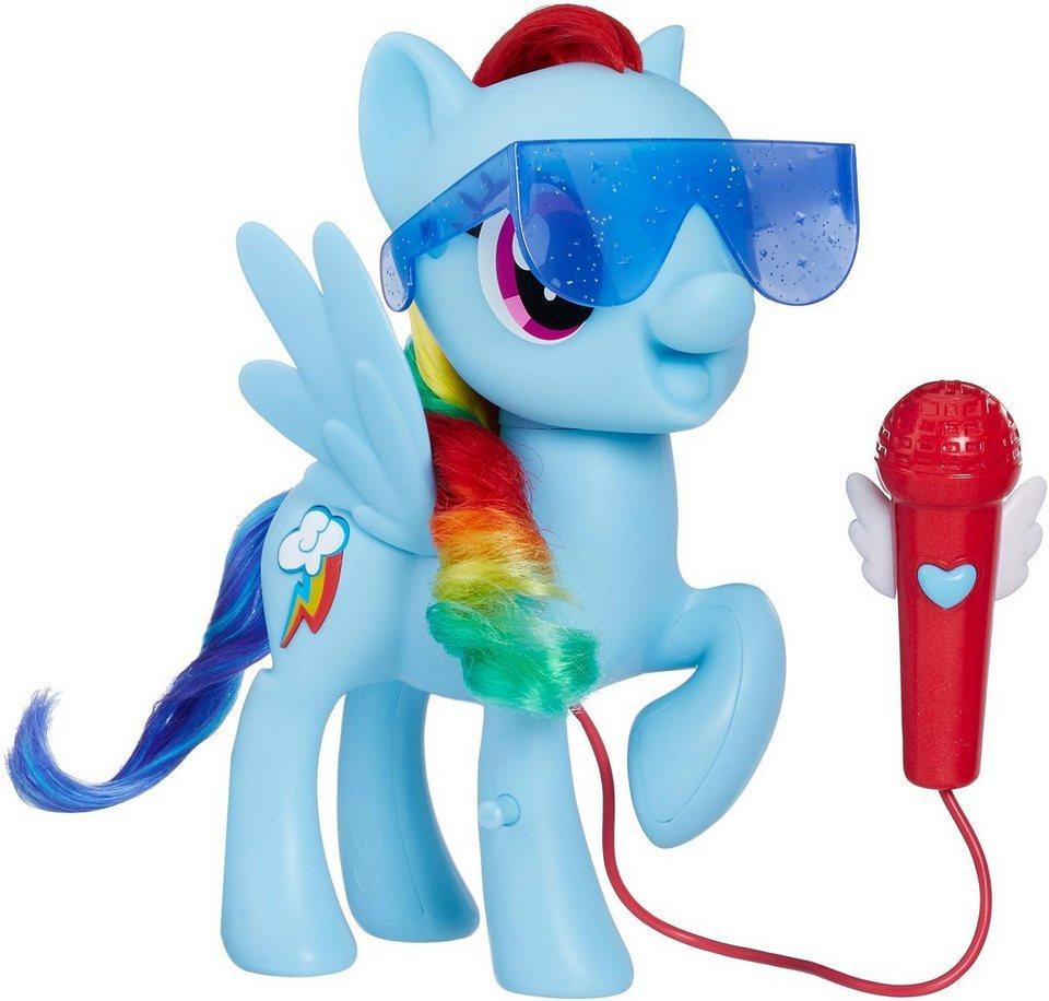 Hasbro Spielfigur My Little Pony Grossartig Singende Rainbow Dash Mit Soundeffekt
