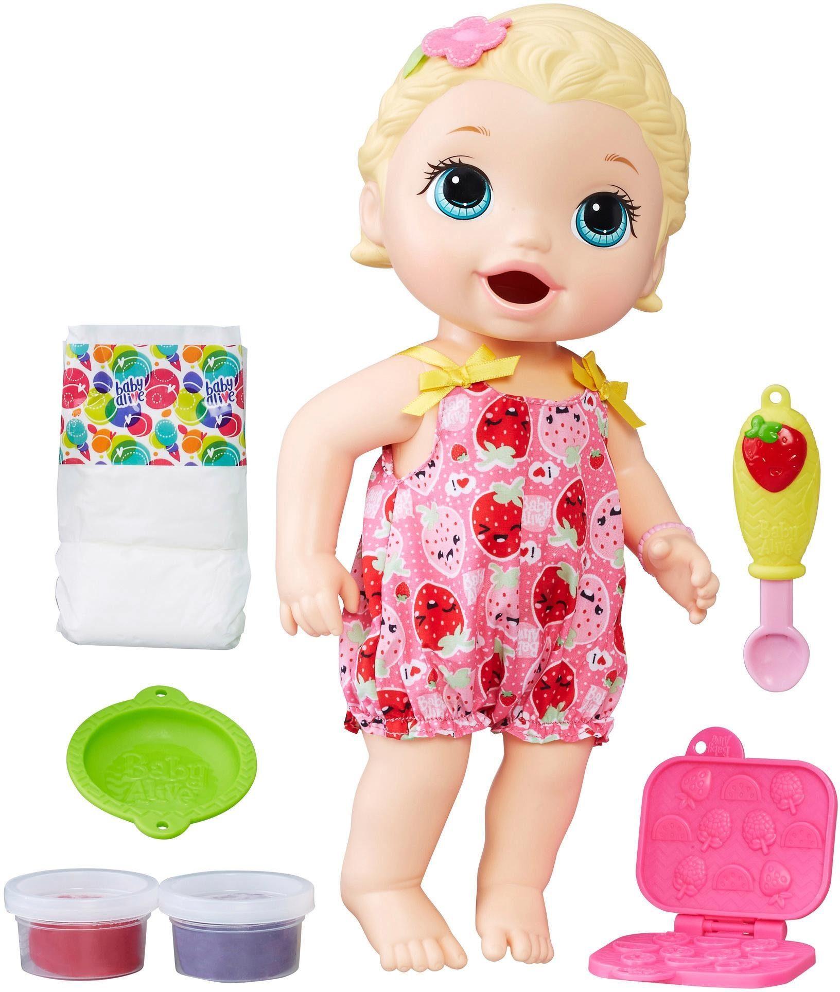 Hasbro Interaktive Puppe, »Baby Alive Fütterspaß Lily«