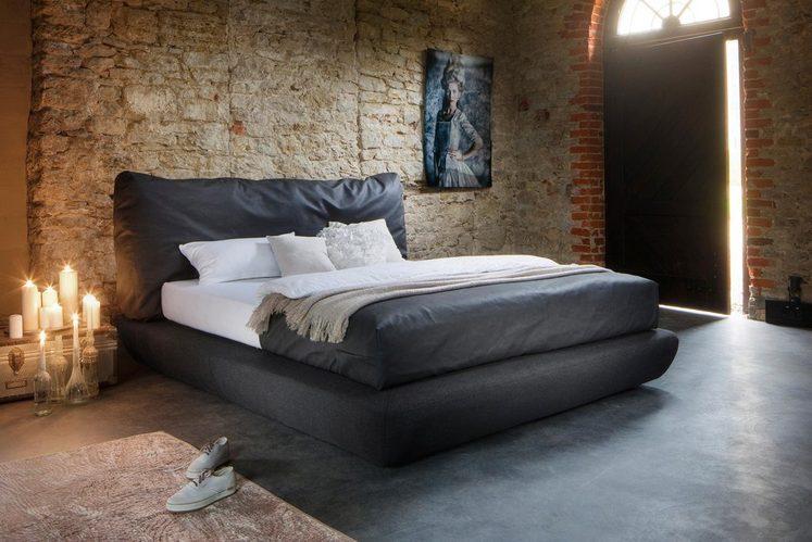 Places of Style Bett »Crush«, in besonderer Knautsch-Optik