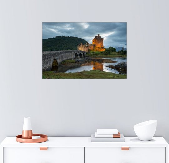 Posterlounge Wandbild - Markus Ulrich »Eilean Donan Castle, Schottland«