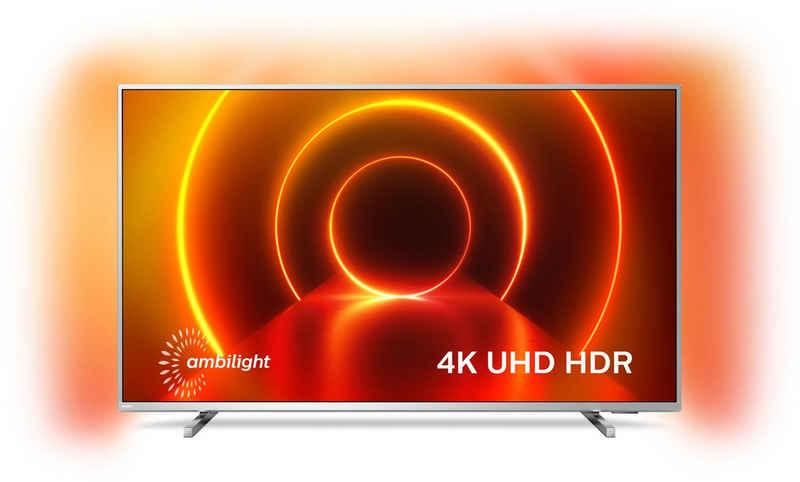 Philips 70PUS8105/12 LED-Fernseher (178 cm/70 Zoll, 4K Ultra HD, Smart-TV, 3-seitiges Ambilght)