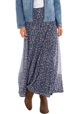 Classic юбка с широкий талия