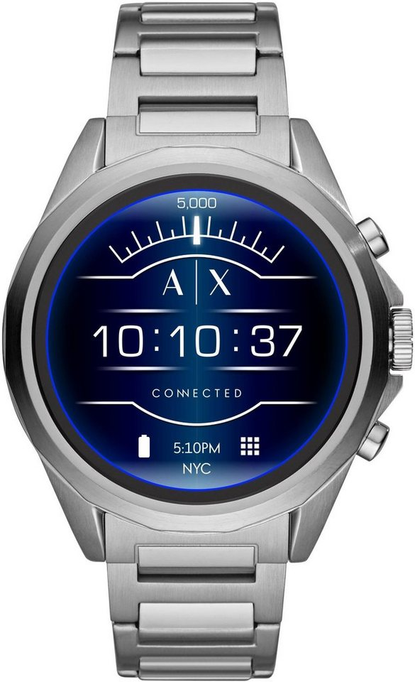 armani exchange connected axt2000 smartwatch 1 4 zoll wear os by google online kaufen otto. Black Bedroom Furniture Sets. Home Design Ideas