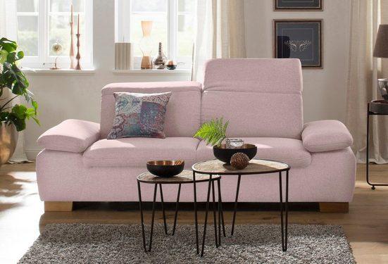 Home affaire 2-Sitzer »Maven«, mit Kopfteil- und Armlehn-Verstellung, Federkern