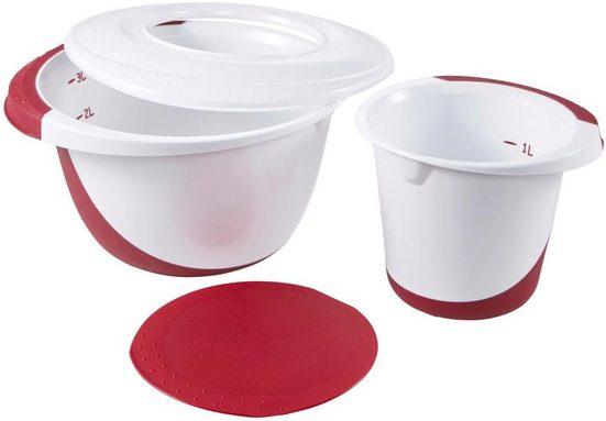 keeeper Rührschüssel »camilla«, Kunststoff, (Set, 4-tlg), stapelbar