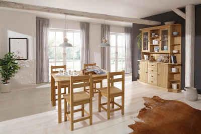 Home affaire Essgruppe »Indra«, (Set, 5-tlg), Tisch 120 cm breit
