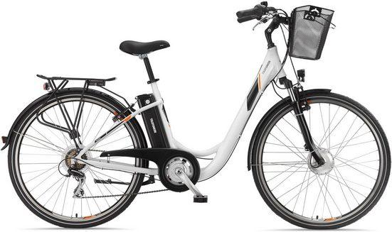 Telefunken E-Bike »RC736 Multitalent«, 7 Gang Shimano Acera Schaltwerk, Kettenschaltung, Frontmotor 250 W