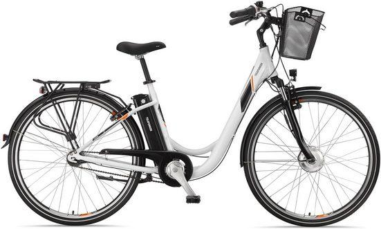 Telefunken E-Bike »RC756 Multitalent«, 7 Gang Shimano Nexus Schaltwerk, Nabenschaltung, Frontmotor 250 W