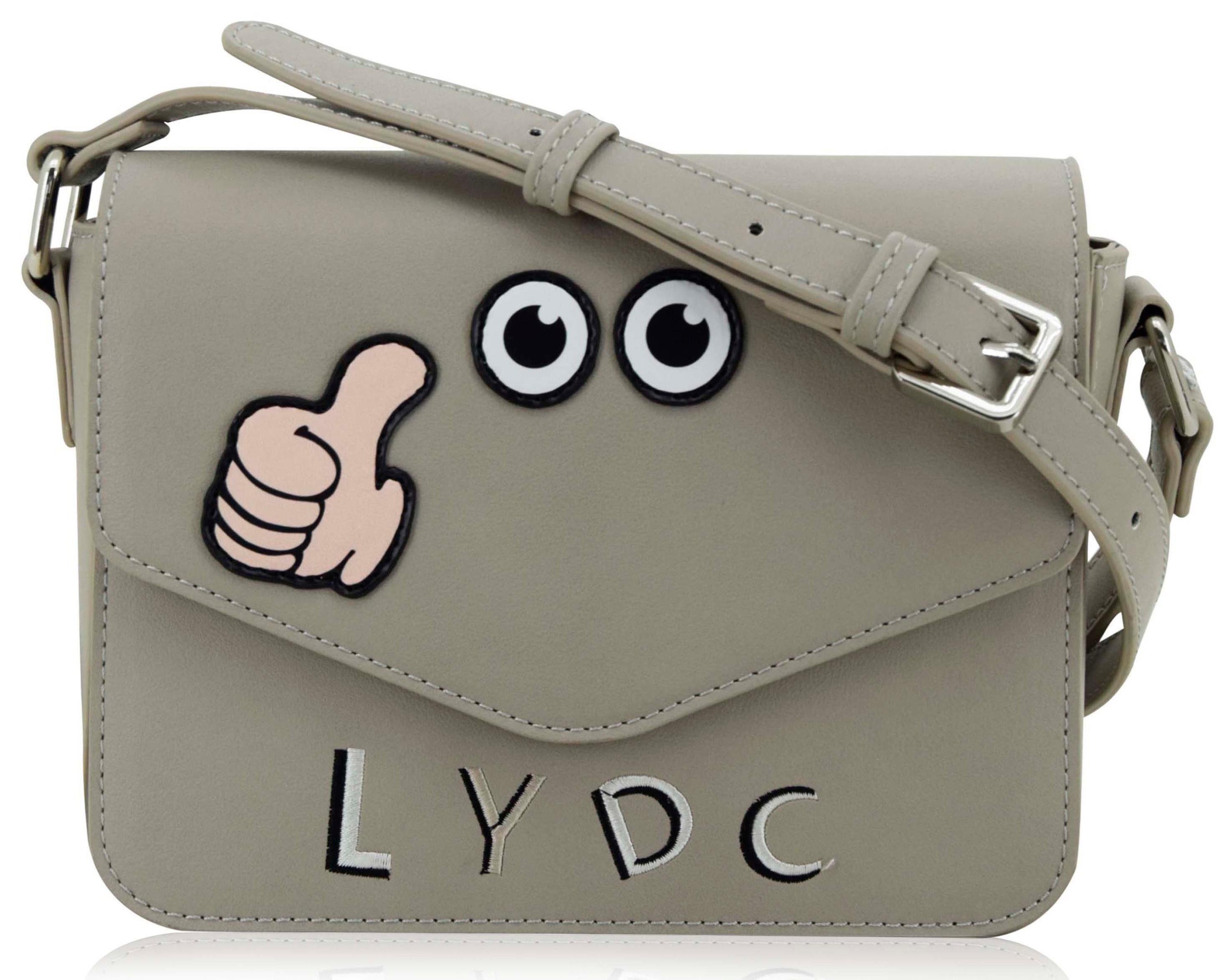 LYDC Umhängetasche »Amy«, mit witzigen Patches