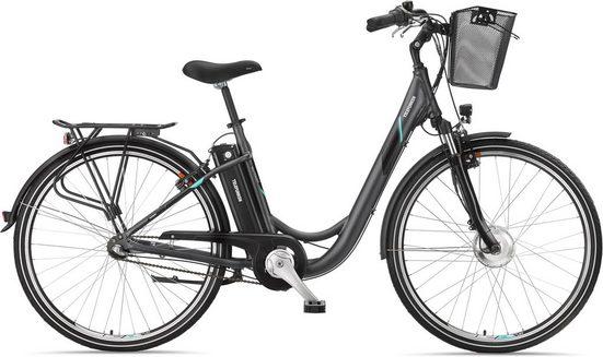 Telefunken E-Bike »RC745 Multitalent«, 3 Gang Shimano Nexus Schaltwerk, Nabenschaltung, Frontmotor 250 W