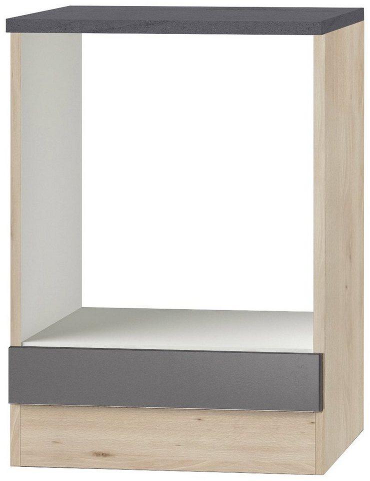 OPTIFIT Herdumbauschrank »OPTIkult Udine«, Breite 60 cm | Küche und Esszimmer > Küchenschränke > Umbauschränke | Grau | Holzwerkstoff | OPTIFIT