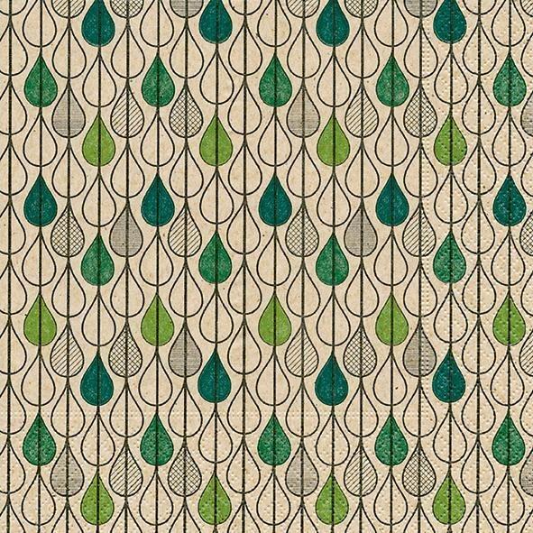 """Serviette """"Leaf Drops"""" online kaufen"""