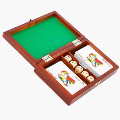 Small Foot Spiel, »Spielbox Karten und Würfel«