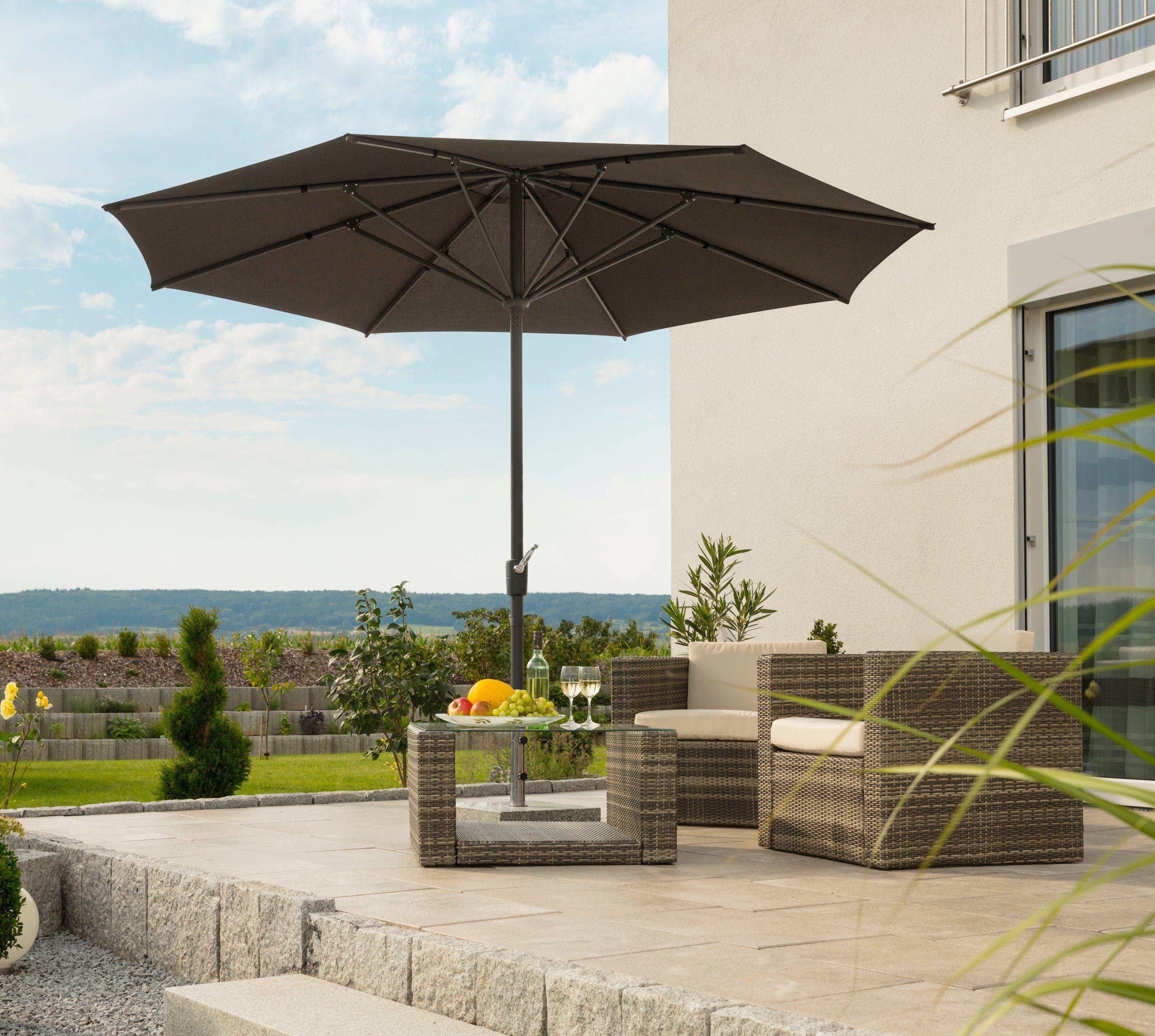 SCHNEIDER SCHIRME Sonnenschirm »Korsika«, Ø 320 cm