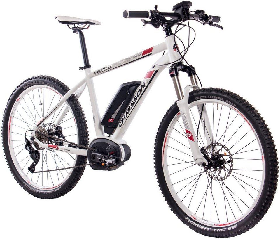 chrisson e bike mountainbike e mounter 2 0 27 5 zoll. Black Bedroom Furniture Sets. Home Design Ideas