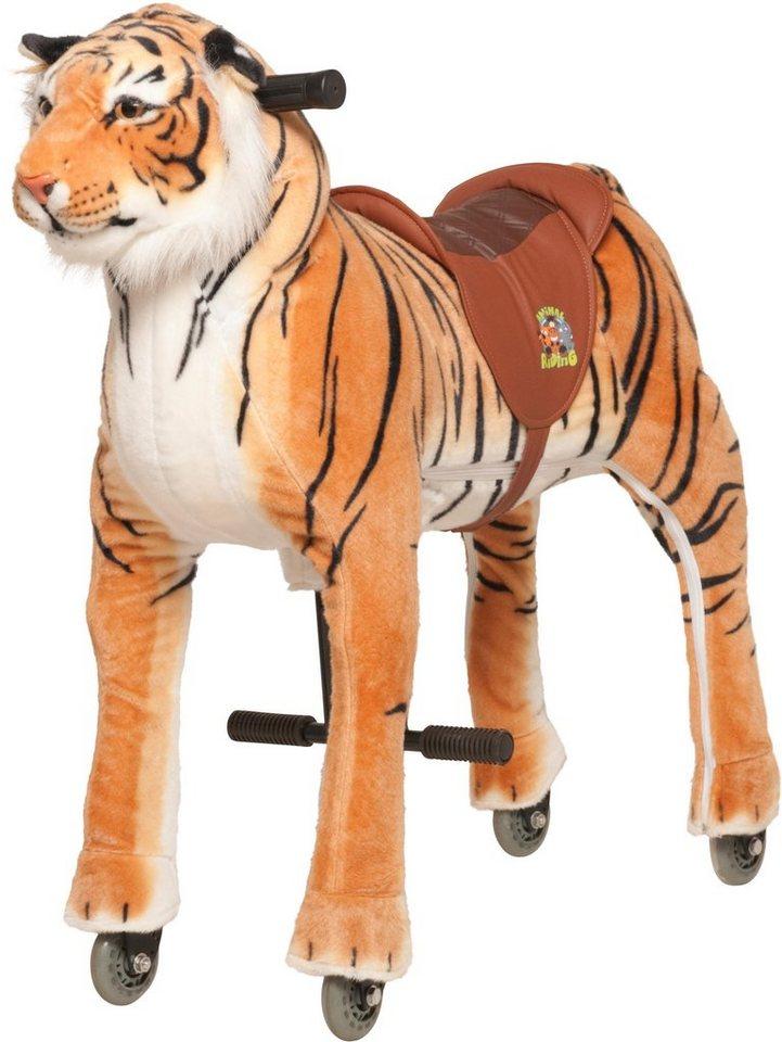 Animal Riding Reittier mit Rollen,  Tiger Shirkan, M/L  online kaufen