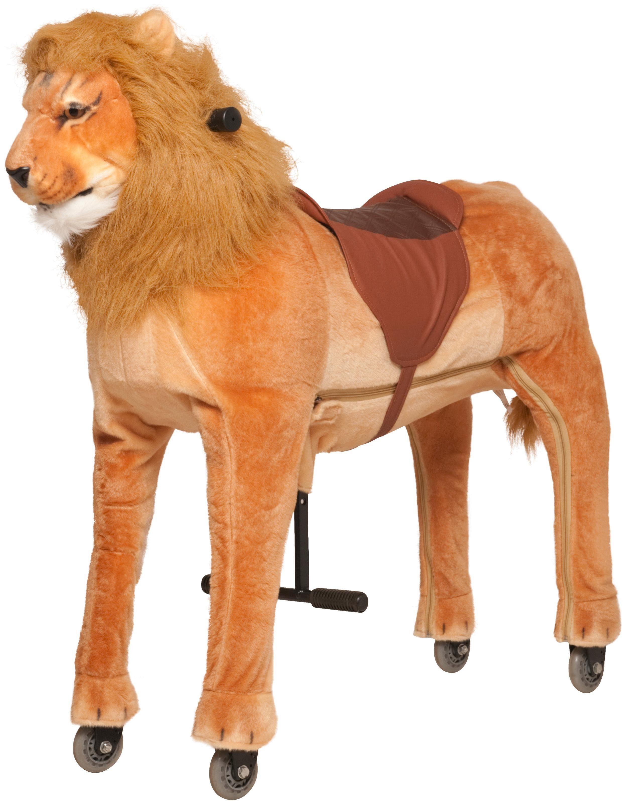 Animal Riding Reittier mit Rollen, »Löwe Shimba, XL«