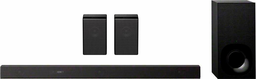 Sony SET HTZF9 + SAZ9R 7.1.2 Soundbar (LAN (Ethernet), WLAN (WiFi), Bluetooth, Hi-Res, Multiroom, Chromecast, 500 W, Dolby Atmos, DTS:X, Vertical Surround Engine, 4K HDR)