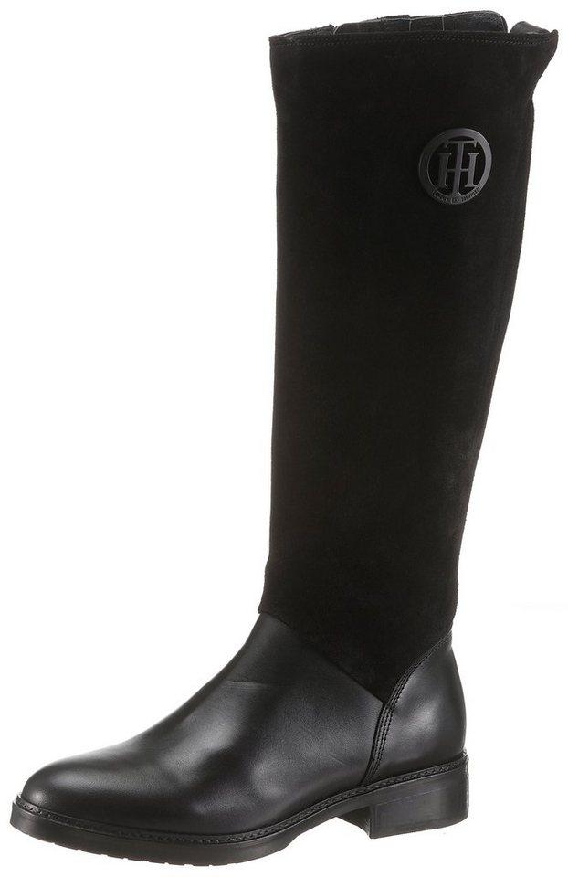 10f5633ae6a0f5 TOMMY HILFIGER »Hatty 5C« Stiefel mit Anziehlasche