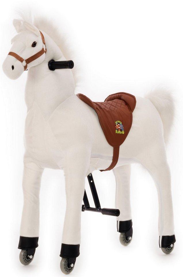 Animal Riding Reittier mit Rollen,  Pferd Snowy, M/L  online kaufen