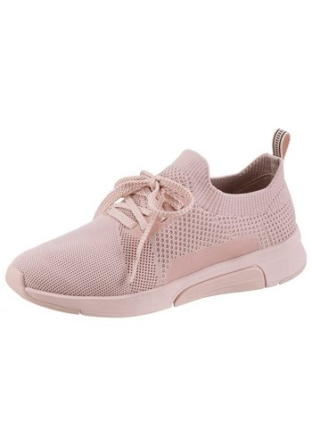 Damen Skechers Mark Nason – Modern Jogger Groves Slip-On Sneaker mit Strick-Schaft rosa | 00191665549833