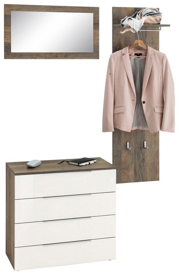 garderoben set triest 3 tlg online kaufen otto. Black Bedroom Furniture Sets. Home Design Ideas