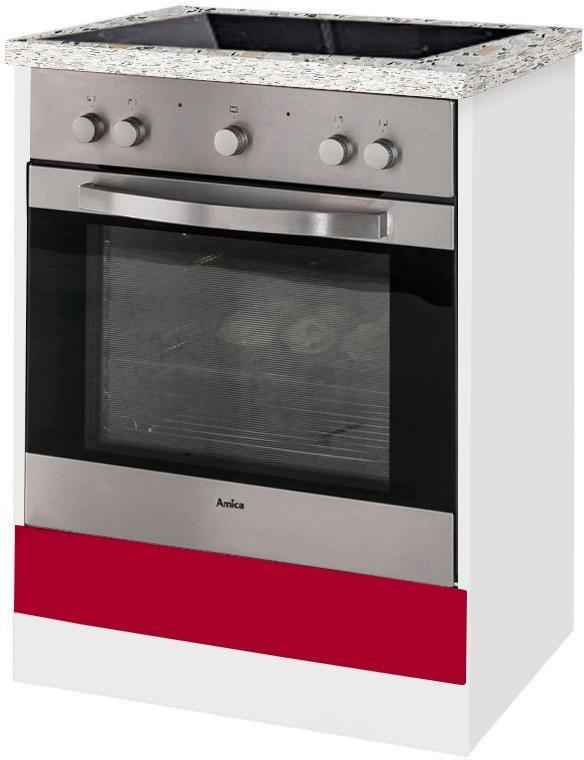 Herdumbauschrank »Aachen«   Küche und Esszimmer > Küchenschränke > Umbauschränke   Weiß   Melamin   wiho Küchen