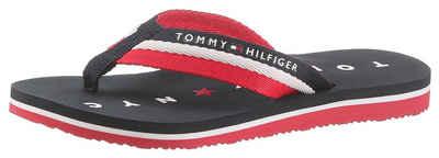 a2a5a1850c4fba TOMMY HILFIGER »Mellie 13« Zehentrenner mit Logo ausf der Laufsohle